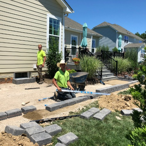 Retaining Wall and Paver Patio Contractor in Powell Columbus